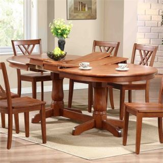 Iconic Furniture OV 90 Oval Double Butterfly Leaf Table