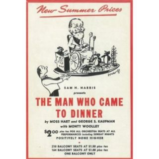 The (Broadway) Man Who Came to Dinner Movie Poster (11 x 17)