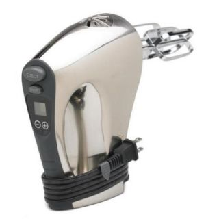 Nesco HM 350 Hand Mixer   350 W   Polished Chrome