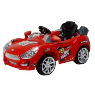 Best Ride On Cars Hot Racer Car Battery Powered Riding Toy   Red