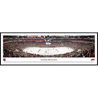 Carolina Hurricanes Framed Stadium Panoramic Photo