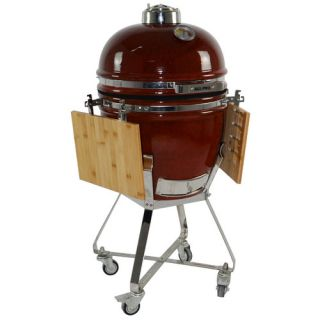 All Pro KAMADO 15 Charcoal Grill with Cart