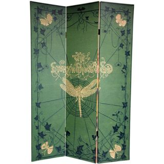 72 x 48 Double Sided Children Feets Stories 3 Panel Room Divider by