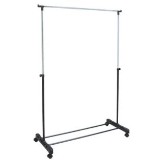 Richards Homewares Free Standing Storage Rolling Garment Rack Clothes