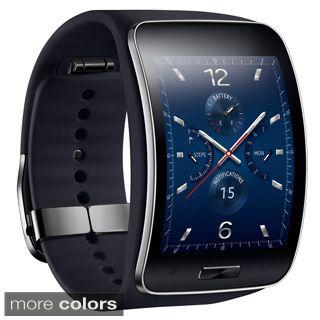 Samsung Galaxy Gear S R750 Curved Super AMOLED Display Smart Watch