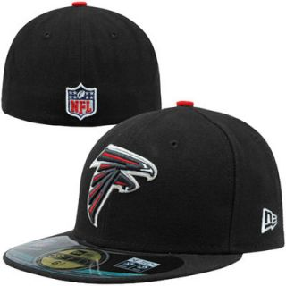 Youth New Era Black Atlanta Falcons On Field 59FIFTY Fitted Hat