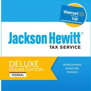 Jackson Hewitt Online Deluxe Edition 2015 (Digital Code)