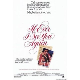 If Ever I See You Again Movie Poster (11 x 17)