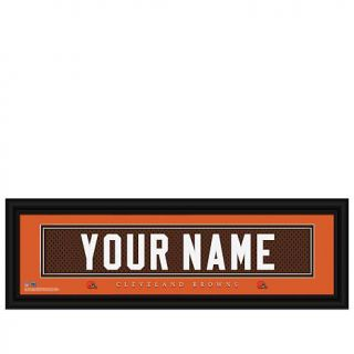Officially Licensed NFL Personalized Name Plate by Prints Charming   Browns   8182077