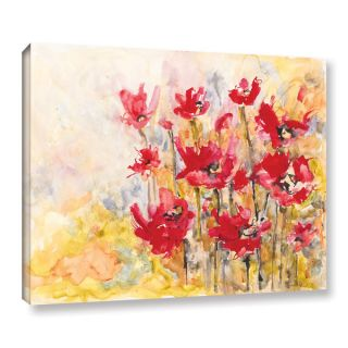ArtWall Karin Johannesson Wildflowers Gallery wrapped Floater framed