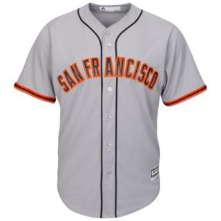 San Francisco Giants Majestic Official Cool Base Jersey   Gray