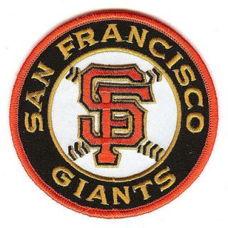 San Francisco Giants SF Circle Emblem Sleeve Patch
