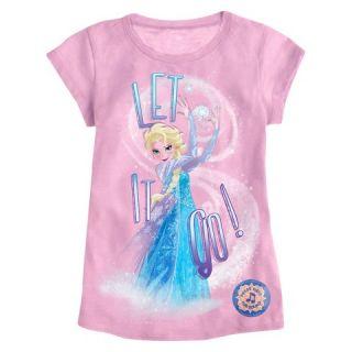 Disney Frozen Girls Sing Along Graphic Tee