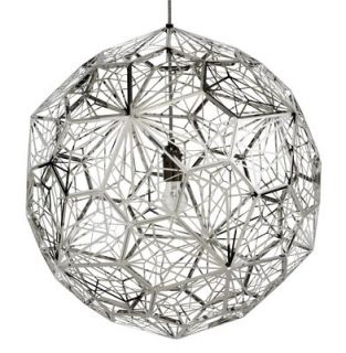 Etch Web Pendant Stainless steel by Tom Dixon