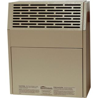 HouseWarmer Slim-Profile Direct Vent Heater with Blower — Propane, 8000 BTU, Model# HWDV081BP  Propane Wall Heaters