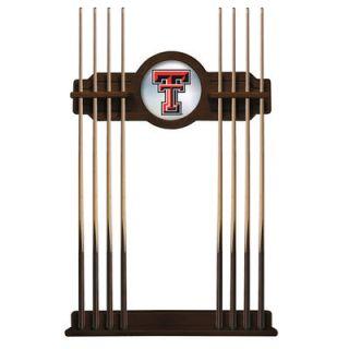 Texas Tech Red Raiders Eight Stick Pool Cue Rack   Navajo