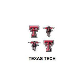 Innovative Adhesives BC 12 Texas Tech Fan A Peel Temporary Tattoo Sticker