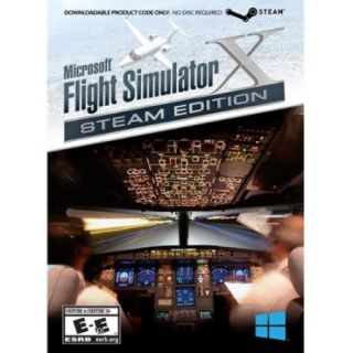 Mad Catz Flight Simulator X: Steam Edition   Flying/simulation Game   Pc (mczfx43sw100s)