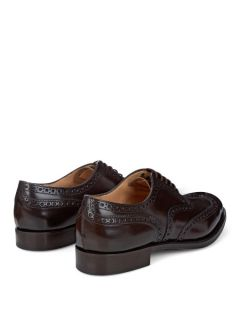 Burwood lace up leather brogues  Churchs US
