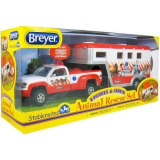 Breyer Stablemates Lights & Sirens Animal Rescue Set