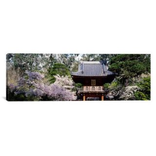 iCanvas Panoramic Japanese Tea Garden, San Francisco, California Photographic Print on Canvas