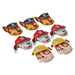 Paw Patrol Paper Mask 8 Count
