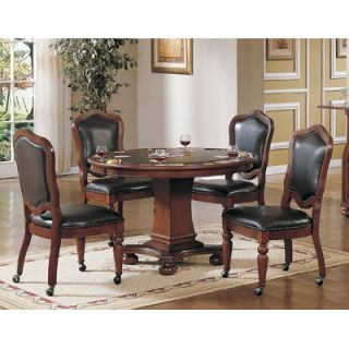 Sunset Trading 48 Bellagio Poker Table & Chair Set