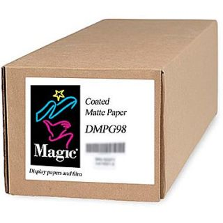 Magiclee/Magic DMPG98 36 x 150 Coated Matte Presentation Paper, Bright White, Roll