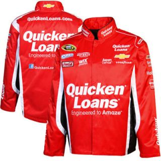 Chase Authentics Ryan Newman Official Twill Full Button Jacket   Red