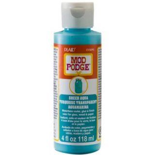 Mod Podge Sheer Color 4Oz Aqua