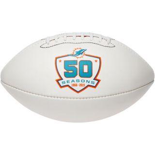 Wilson Miami Dolphins 50th Anniversary Football