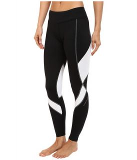 Hot Chillys F8 Performance 8K Tights Black/White