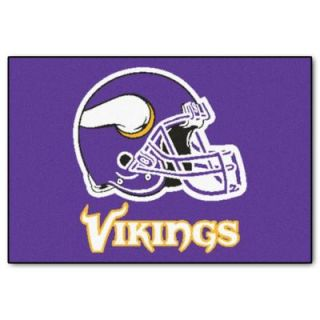 FANMATS Minnesota Vikings 19 in. x 30 in. Accent Rug 5764