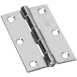 Stanley National Hardware 3 in. Narrow Utility Hinge Non Removable Pin SP838CC 3 NAR UTLY HGE 2