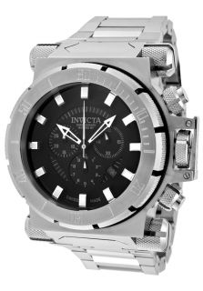 Men's Coalition Forces Chronograph Black Dial Stainless Steel