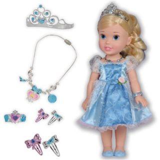 Disney Princess Cinderella Doll and Royal Accessories Play Set