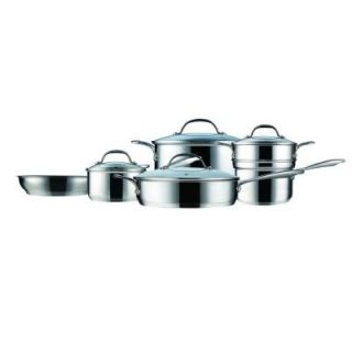 Curtis Stone Steelworks 10 Piece Cookware Set FFL0200