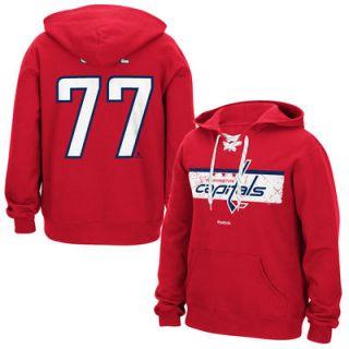 TJ Oshie Washington Capitals Reebok Honor Code Name & Number Hoodie   Red