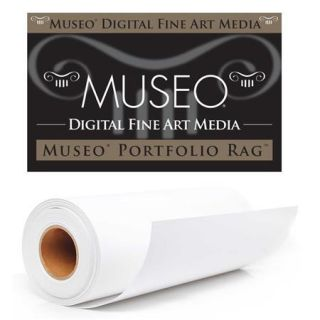 Museo Portfolio Rag 3 Core Smooth Fine Art Photo Paper, 300 gsm, 50x50 Roll C40 MPR3005050R