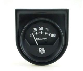 Auto Meter   Autogage Mechanical Oil Pressure Gauge