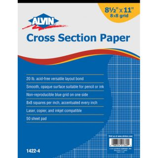 Cross Section Paper Grid Pad by Alvin and Co.