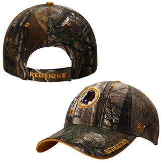 Washington Redskins 47 Brand Frost Adjustable Hat – Realtree Camo