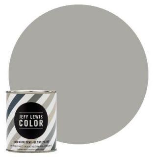 Jeff Lewis Color 1 qt. #JLC410 Smoke Semi Gloss Ultra Low VOC Interior Paint 504410