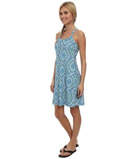 Prana Quinn Dress Blue Gardenia, Clothing, Women