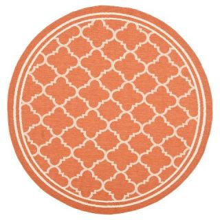 Safavieh Renee Outdoor Rug   Terracotta / Bone
