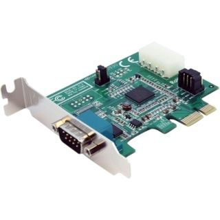 StarTech 1 Port Low Profile Native PCI Express Serial Card w/ 169