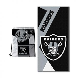 Officially Licensed NFL Oversized Beach Towel   Cowboys   Raiders   8142394