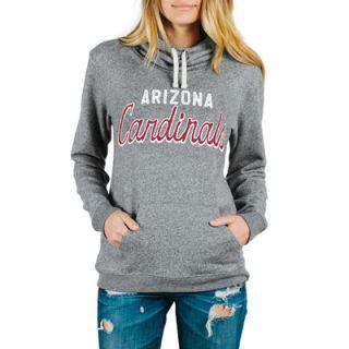Arizona Cardinals Junk Food Womens Sunday Pullover Hoodie   Steel