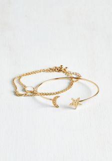 Galaxy Girl Bracelet Set  Mod Retro Vintage Bracelets