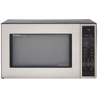 Sharp 1.5 Cu. Ft. 900W Built In Microwave with Convection